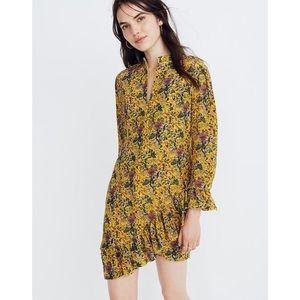 Madewell x Karen Walker® Silk Floral Loretta Dress